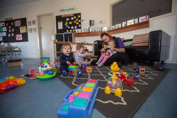 Children playing KingKids Childcare